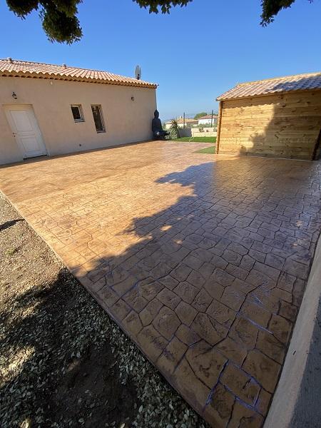 beton empreinte-maconnerie generale Grans-beton decoratif Bouches-du-Rhone-maconnerie traditionnelle Salon-de-Provence-toiture Alpilles-beton cire Aix-en-Provence-macon Grans